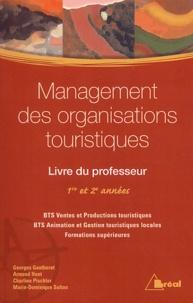 Deedr.fr Management des organisations touristiques 1ère et 2ème années BTS - Livre du professeur Image