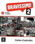 Michel Morel - Italien 2e année Bravissimi! 2 A2 - Cahier d'activités.