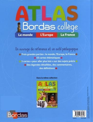 Atlas Bordas collège  Edition 2018