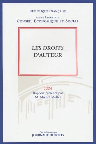 Michel Muller - Les droits d'auteur.