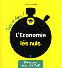 Télécharger Google Books au format pdf L'économie pour les nuls par Michel Musolino 9782412035986 FB2 PDF