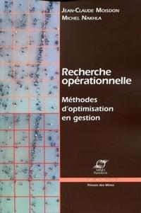 Recherche opérationnelle- Méthodes d'optimisation en gestion - Michel Nakhla pdf epub