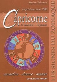Galabria.be Capricorne. Prévisions 2003 Image