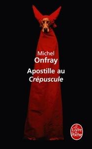 Apostille au Crépuscule - Pour une psychanalyse non freudienne.pdf