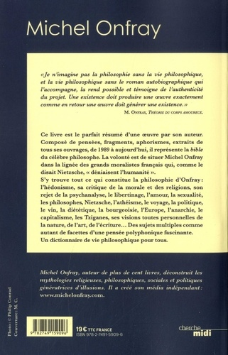 Michel Onfray. Le dictionnaire