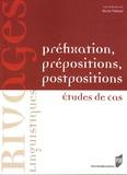 Michel Paillard - Préfixation, prépositions, postpositions - Etudes de cas.