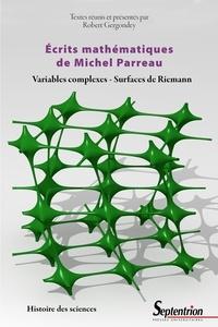 Ecrits mathématiques - Variables complexes, surfaces de Riemann.pdf