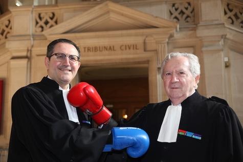 Nos combats pour le sport et la justice, quelques grands procès