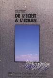 Michel Peroni - De l'écrit à l'ecran.