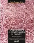 Michel Picouet - Environnement et sociétés rurales en mutation : approches alternatives.