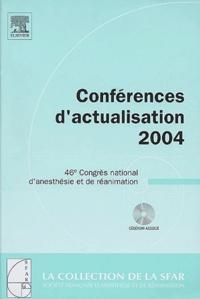 Michel Pinaud et Benoît Vallet - Conférences d'actualisation - 46e Congrès national d'anesthésie et de réanimation. 1 Cédérom