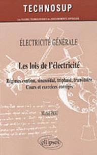 Deedr.fr Les lois de l'électricité - Régimes continu, sinusoïdal, triphasé, transitoire, cours et exercices corrigés Image