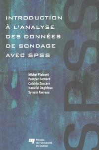 Introduction à l'analyse des données de sondage avec SPSS - Michel Plaisent pdf epub