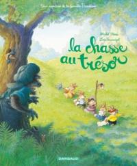 Michel Plessix et Loïc Jouannigot - La chasse au trésor - Une aventure de la famille Passiflore.