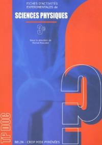 Michel Poncelet et  Collectif - Fiches d'activités expérimentales de sciences physiques 3e.