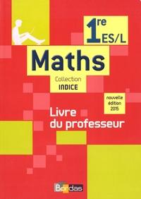 Michel Poncy et Marie-Christine Russier - Maths 1re ES-L - Livre du professeur.