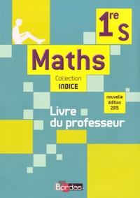 Michel Poncy et Marie-Christine Russier - Maths 1re S - Livre du professeur.