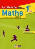 Michel Poncy et Marie-Christine Russier - Maths 1re STMG - Programme 2012.