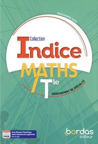 Michel Poncy et Denis Vieudrin - Maths Tle enseignement de spécialité Indice.
