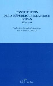 Michel Potocki - Constitution de la République islamique d'Iran.