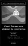 Michel Prat - Emploi des éléments finis en génie civil - Calcul des ouvrages généraux de construction.