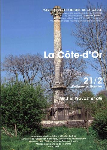 Michel Provost - La Côte-d'Or - D'Allerey à Normier 21/2.
