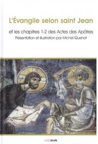 Histoiresdenlire.be L'Evangile selon Saint Jean et les chapitres 1-2 des Actes des Apôtres Image