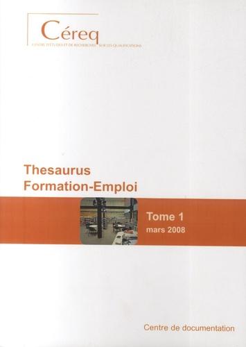 Michel Quéré - Thesaurus Formation-Emploi - Pack en 3 volumes Tome 1 à 3 mars 2008.