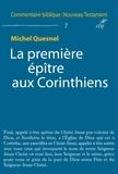 Michel Quesnel - La première épître aux Corinthiens.