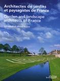 Michel Racine - Architectes de jardins et paysagistes de France - Edition bilingue français-anglais.