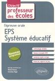 Michel Ramos et Christian Rigal - L'épreuve orale EPS / système éducatif.