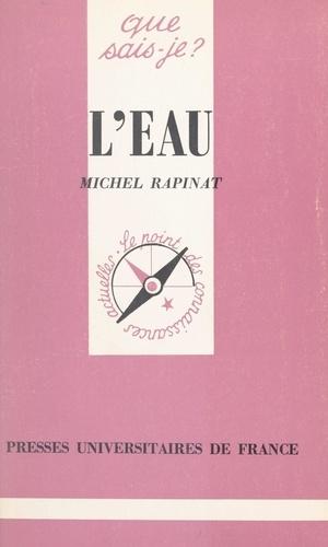 Michel Rapinat et Paul Angoulvent - L'eau.