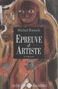 Michel Rietsch - Épreuve d'artiste.