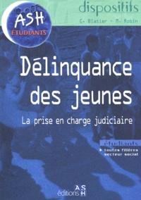 Michel Robin et Catherine Blatier - Délinquance des jeunes - La prise en charge judiciaire.