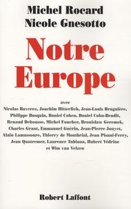 Michel Rocard et Nicole Gnesotto - Notre Europe.