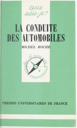 La conduite des automobiles