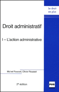 Ucareoutplacement.be Droit administratif - Tome 1, L'action administrative Image