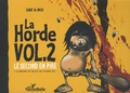 Michel Sanz - La horde Tome 2 : Le second en pire.