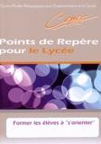"""Michel Saroul - Réforme du lycée : Former les élèves à """"s'orienter""""."""