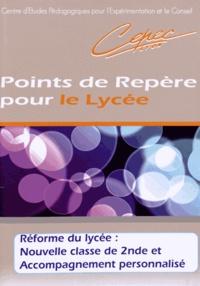 Michel Saroul - Réforme du lycée : Nouvelle classe de 2e et Accompagnement personnalisé.
