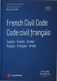 Michel Séjean - Code civil français - Edition français-anglais-arabe.