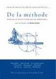 Michel Serfati - De la méthode - Recherches en histoire et philosophie des mathématiques.