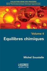 Equilibres chimiques - Michel Soustelle | Showmesound.org