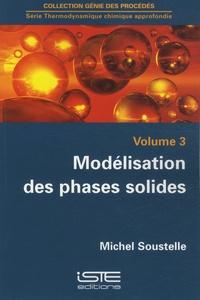 Modélisation des phases solides - Michel Soustelle | Showmesound.org