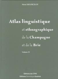 Michel Tamine et Henri Bourcelot - Atlas linguistique et ethnographique de la Champagne et de la Brie - Volume IV : Animaux sauvages - Activités humaines.