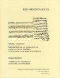 """Michel Tardieu et Pierre Hadot - Recherches sur la formation de l'Apocalypse de Zostrien et les sources de Marius Victorinus - """"Porphyre et Victorinus"""" questions et hypothèses."""