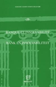 Michel Tison et Régine Feltkamp - Banque et insolvabilité.