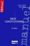 Michel Troper et Francis Hamon - Droit constitutionnel.