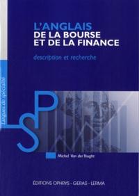 Michel Van der Yeught - L'anglais de la bourse et de la finance - Description et recherche.