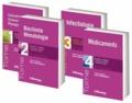 Michel Vaubourdolle - Moniteur Internat - Pack 4 volumes : Toxicologie Sciences mathématiques physiques et chimiques ; Biochimie Hématologie ; Infectiologie ; Médicaments.